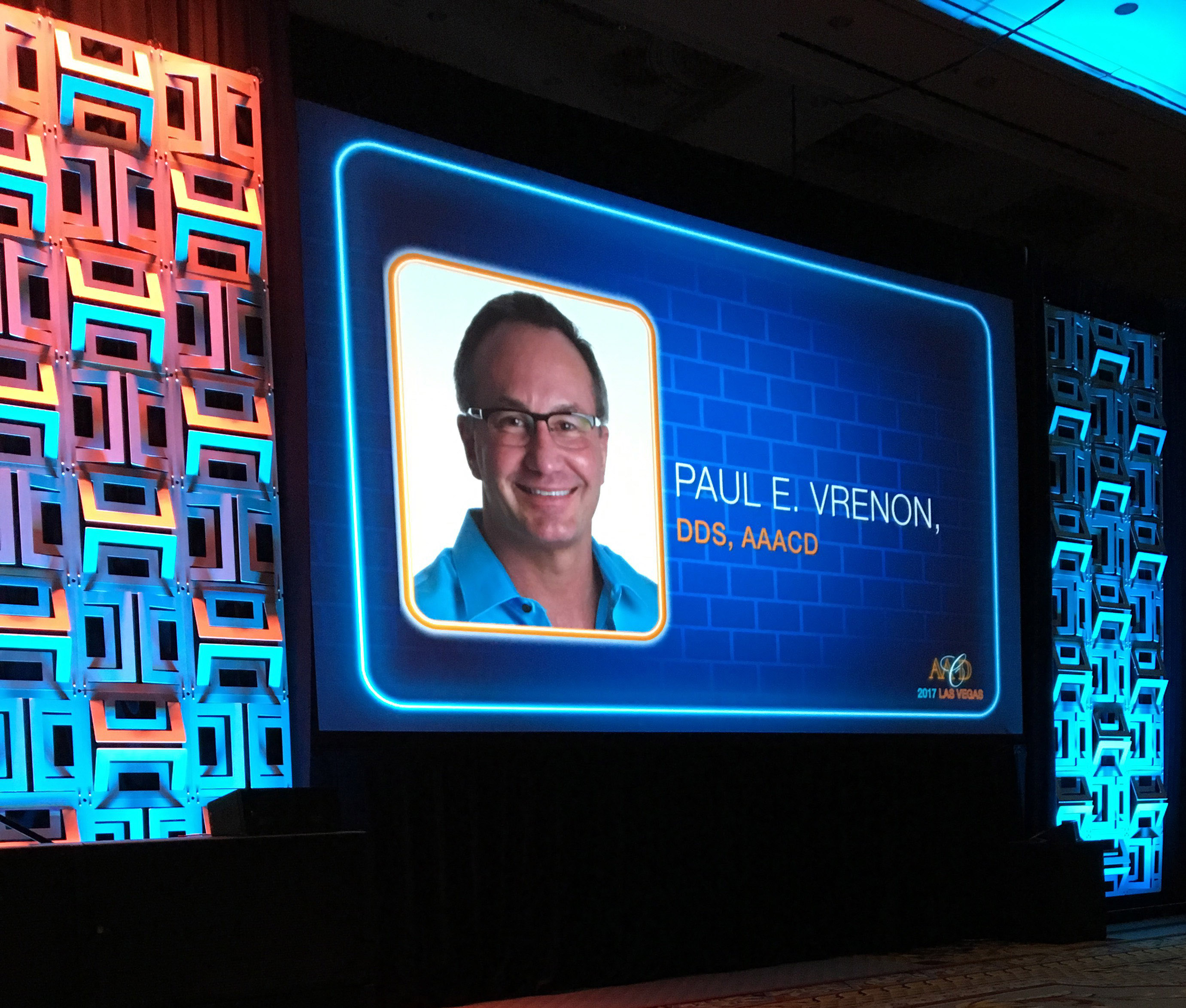 DR. PAUL VRENON TO RECEIVE AMERICAN ACADEMY OF COSMETIC DENTISTRY ACCREDITATION AWARD